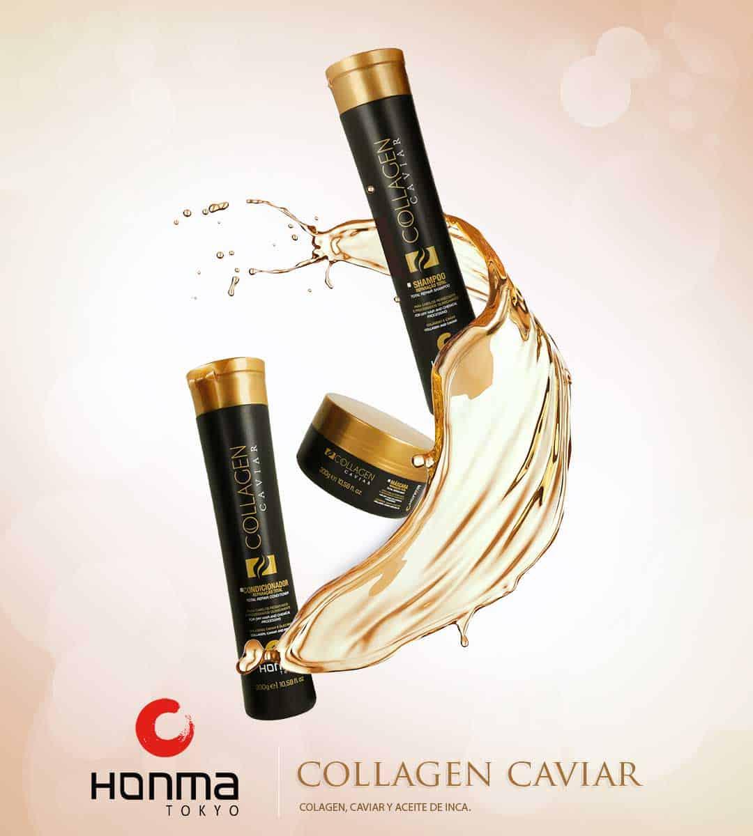 Kit colageno caviar